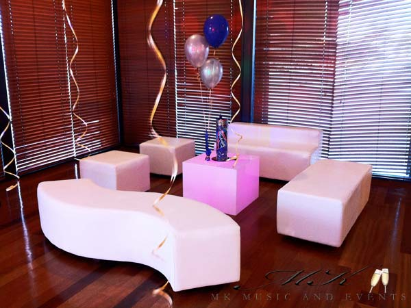 S Bench - MK Music and Events - Event Rentals in Miami