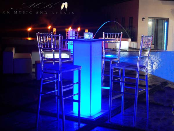 Event rentals in Miami - Tables and chairs rentals in Miami