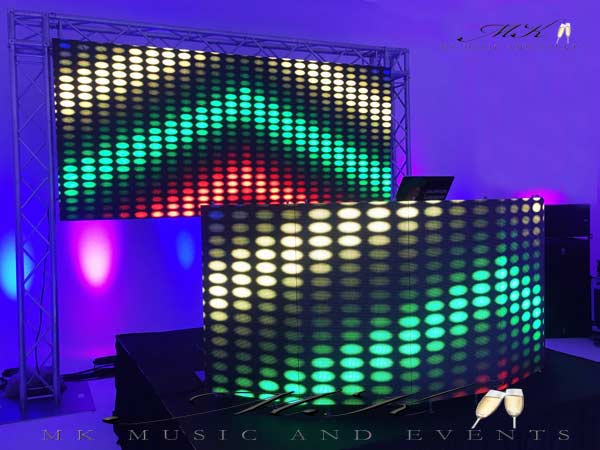dj lights rental miami and broward led dj booth mk and events event rentals 726