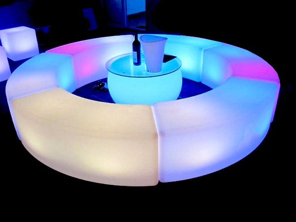 Led furniture rental - Event rentals in Miami