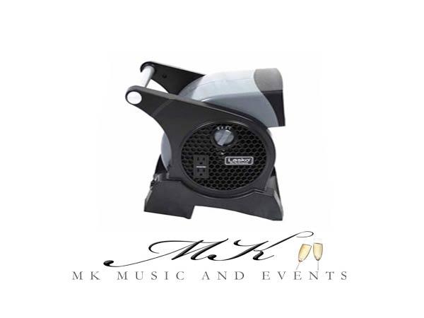 Event rentals in Miami - Fan rental