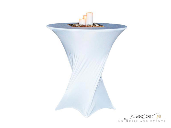 Event rentals in Miami - Cocktail tables