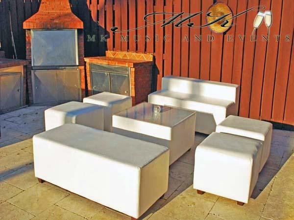 Event rentals in Miami - Lounge furniture rental