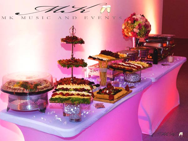Event rentals in Miami - Tables and chairs rental