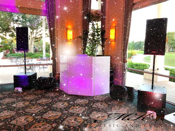Event rentals Miami - Dj Miami - Dj for Weddings