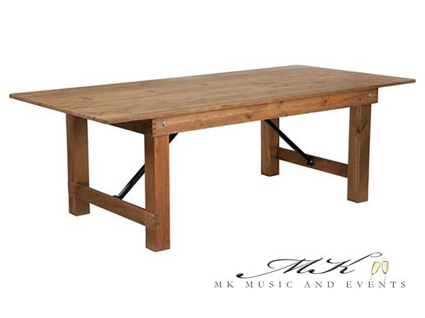 Event rentals Miami - Farm tables